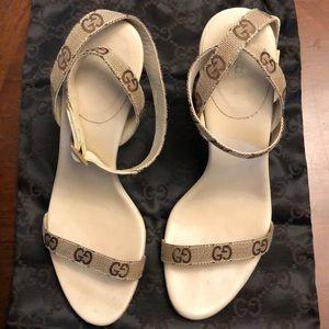 GUCCI Strappy Sandals.
